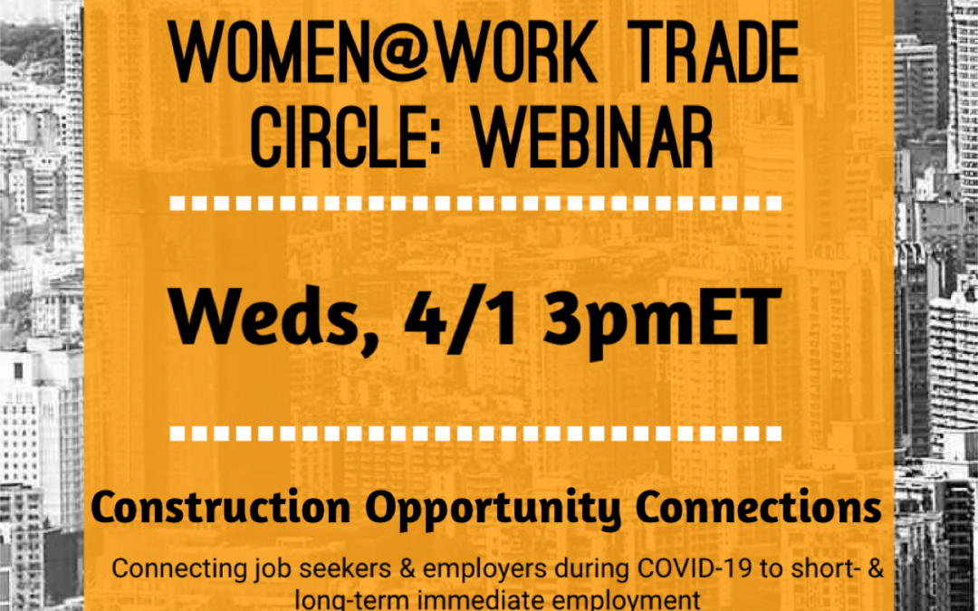 Women at Work Trade Circle